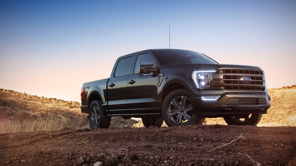 2021 Ford F-150: Image courtesy of Ford Motor Company